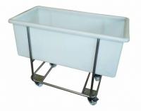 Transportwagen für Fleischwanne 270 Liter