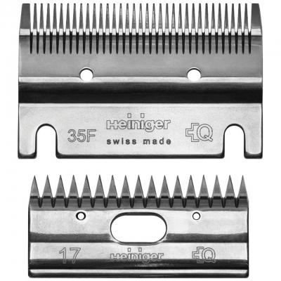 Schermesser Set 35F/17