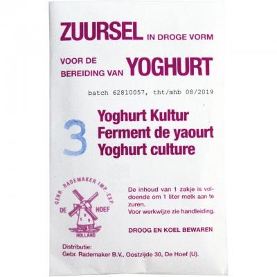 Joghurtkultur, 3 Stk